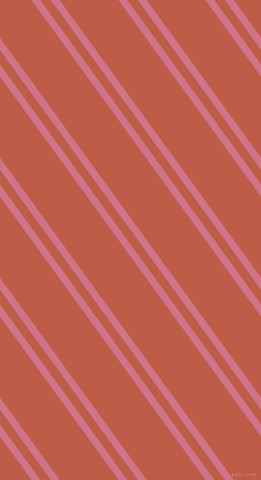 126 degree angles dual striped line, 10 pixel line width, 12 and 67 pixels line spacing, Charm and Flame Pea dual two line striped seamless tileable