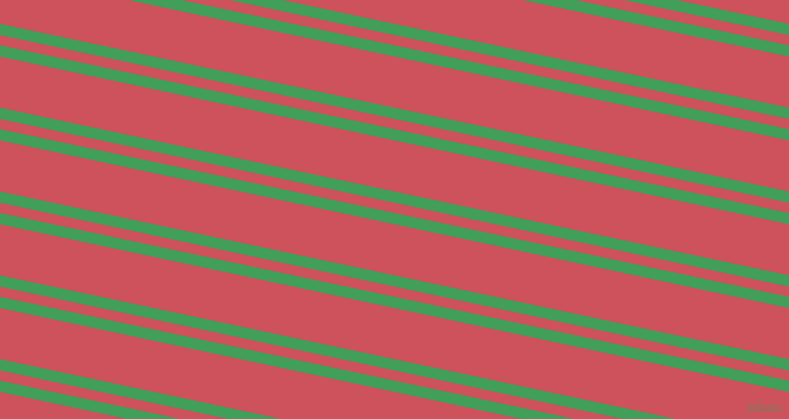 168 degree angles dual striped line, 11 pixel line width, 10 and 50 pixels line spacing, Chateau Green and Mandy dual two line striped seamless tileable