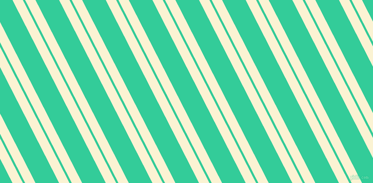117 degree angles dual stripe lines, 18 pixel lines width, 4 and 41 pixels line spacing, China Ivory and Shamrock dual two line striped seamless tileable