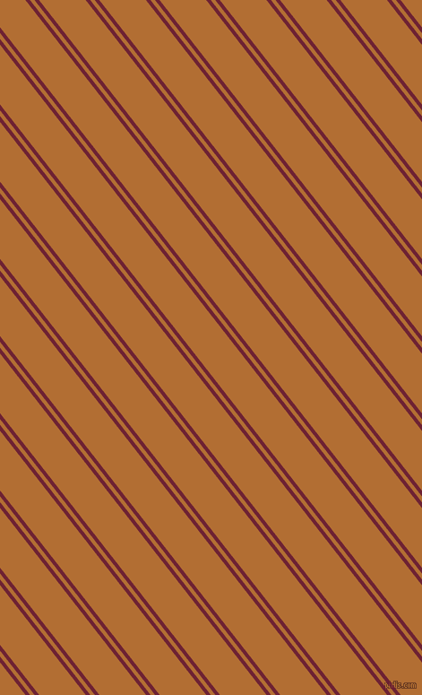 128 degree angles dual striped line, 4 pixel line width, 4 and 41 pixels line spacing, Claret and Reno Sand dual two line striped seamless tileable