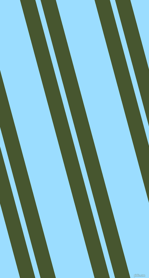 105 degree angles dual stripe line, 47 pixel line width, 16 and 119 pixels line spacing, Clover and Columbia Blue dual two line striped seamless tileable