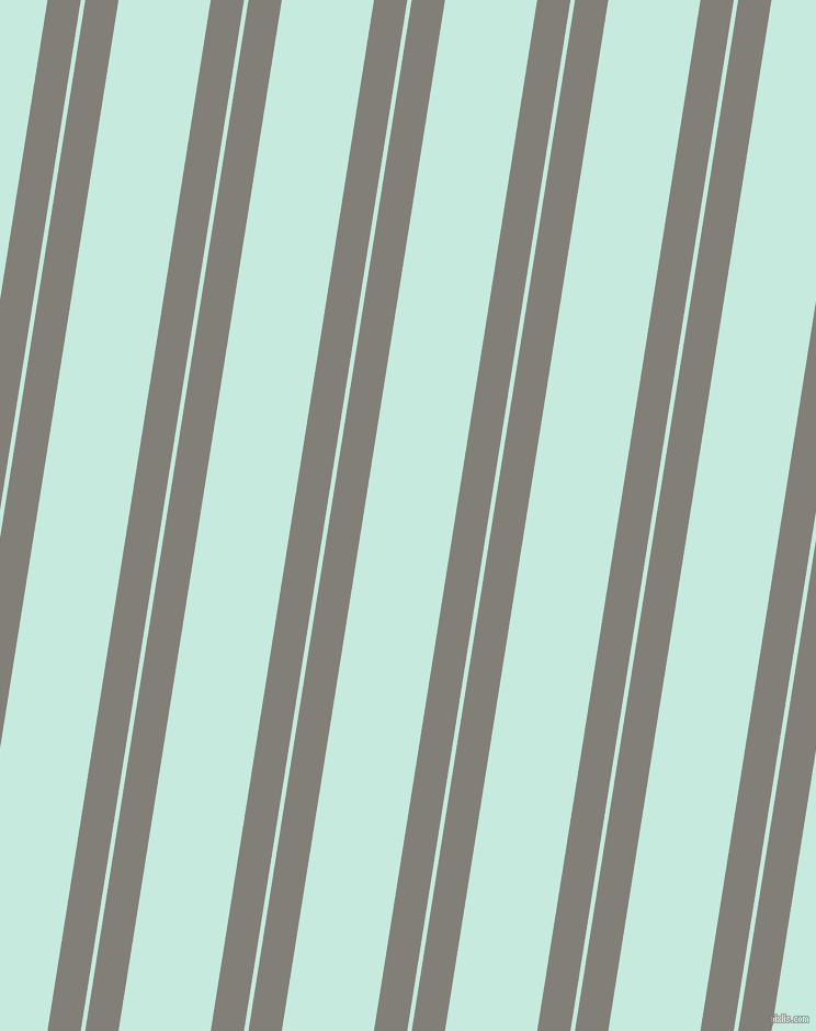 81 degree angles dual stripes line, 30 pixel line width, 4 and 83 pixels line spacing, Concord and Mint Tulip dual two line striped seamless tileable