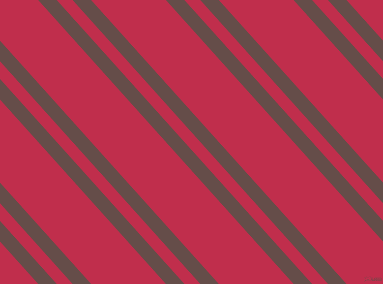132 degree angle dual striped lines, 28 pixel lines width, 24 and 113 pixel line spacing, Congo Brown and Old Rose dual two line striped seamless tileable