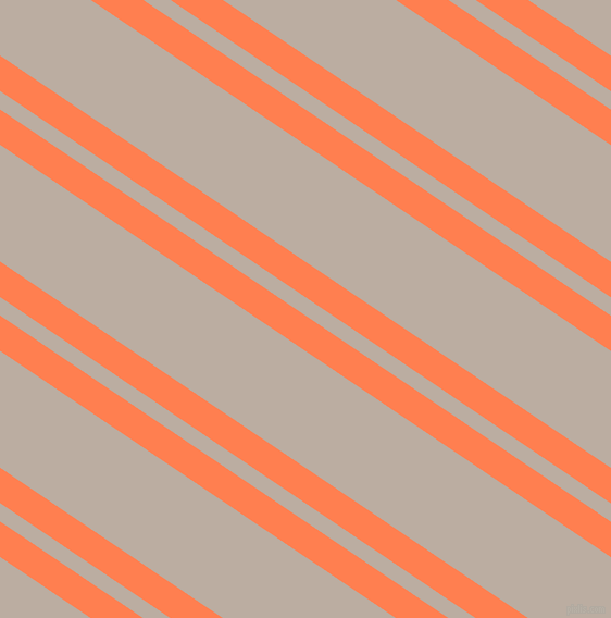 146 degree angle dual stripes lines, 27 pixel lines width, 14 and 89 pixel line spacing, Coral and Silk dual two line striped seamless tileable