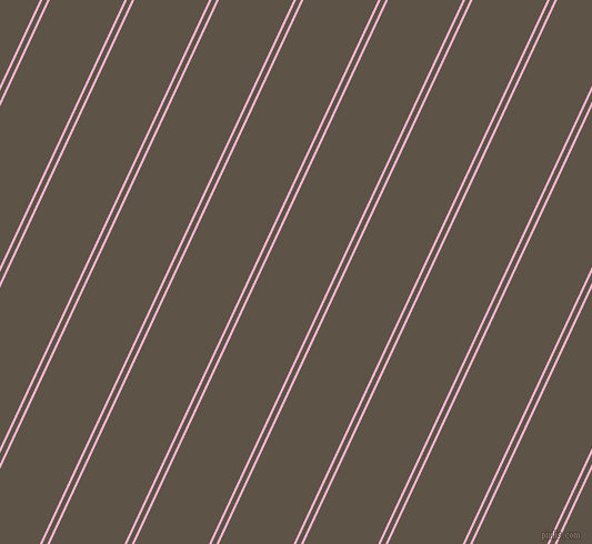 65 degree angles dual stripes lines, 2 pixel lines width, 4 and 61 pixels line spacing, Cotton Candy and Judge Grey dual two line striped seamless tileable