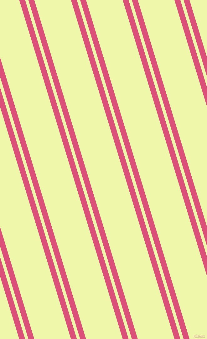 107 degree angle dual striped line, 18 pixel line width, 10 and 112 pixel line spacing, Cranberry and Australian Mint dual two line striped seamless tileable