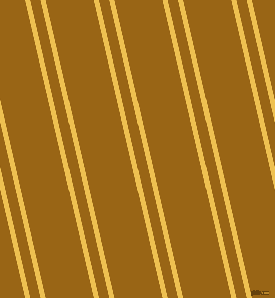 103 degree angles dual stripes lines, 10 pixel lines width, 20 and 93 pixels line spacing, Cream Can and Golden Brown dual two line striped seamless tileable