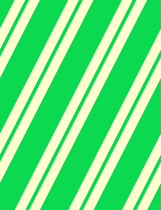 63 degree angle dual striped lines, 33 pixel lines width, 12 and 88 pixel line spacing, Cream and Malachite dual two line striped seamless tileable