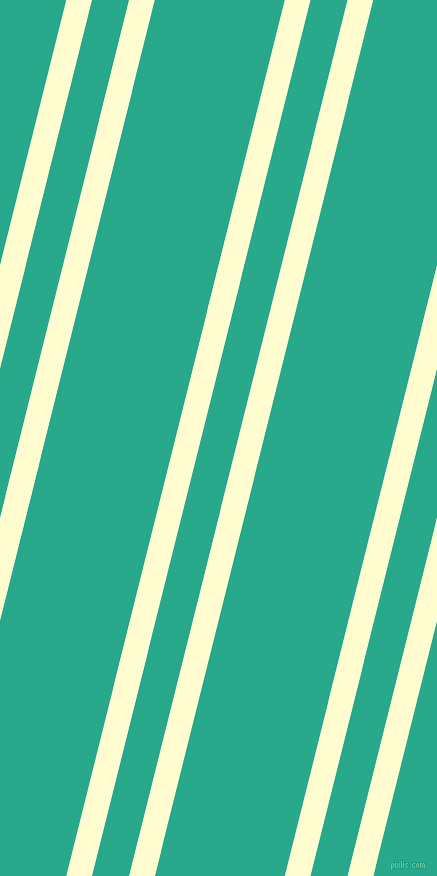 76 degree angles dual stripes line, 25 pixel line width, 36 and 126 pixels line spacing, Cream and Niagara dual two line striped seamless tileable
