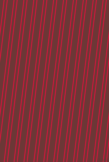 83 degree angles dual stripes lines, 3 pixel lines width, 8 and 20 pixels line spacing, Crimson and Sanguine Brown dual two line striped seamless tileable