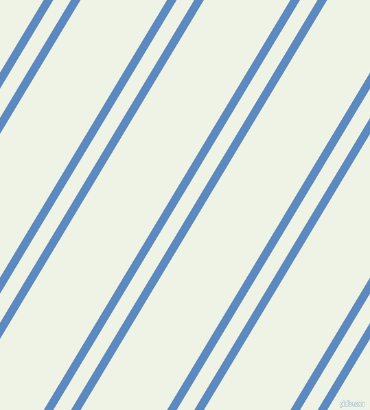 59 degree angles dual striped line, 12 pixel line width, 22 and 108 pixels line spacing, Danube and Saltpan dual two line striped seamless tileable