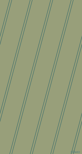 75 degree angles dual striped line, 2 pixel line width, 6 and 67 pixels line spacingDark Green Copper and Sage dual two line striped seamless tileable
