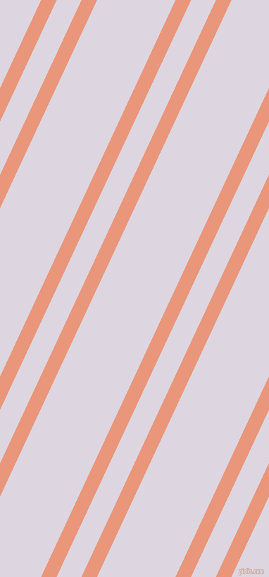 65 degree angle dual stripe line, 20 pixel line width, 32 and 101 pixel line spacing, Dark Salmon and Titan White dual two line striped seamless tileable