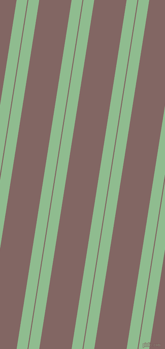 81 degree angles dual striped lines, 21 pixel lines width, 2 and 63 pixels line spacing, Dark Sea Green and Pharlap dual two line striped seamless tileable