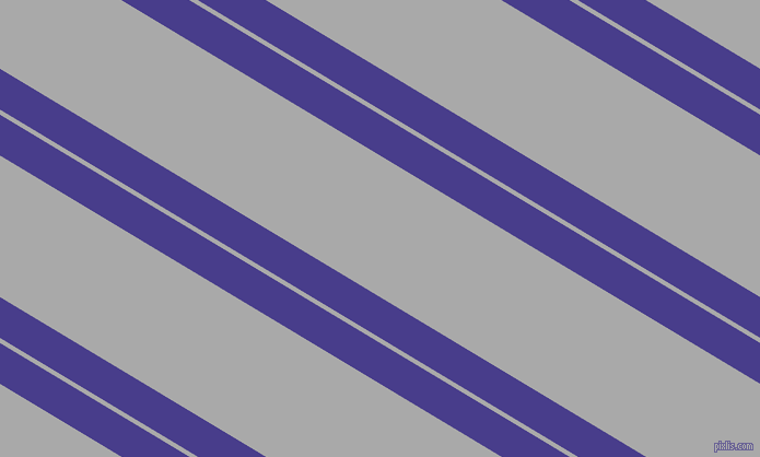149 degree angles dual striped line, 32 pixel line width, 4 and 111 pixels line spacing, Dark Slate Blue and Dark Gray dual two line striped seamless tileable