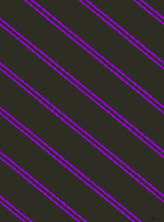 141 degree angle dual stripe lines, 6 pixel lines width, 8 and 91 pixel line spacing, Dark Violet and Karaka dual two line striped seamless tileable