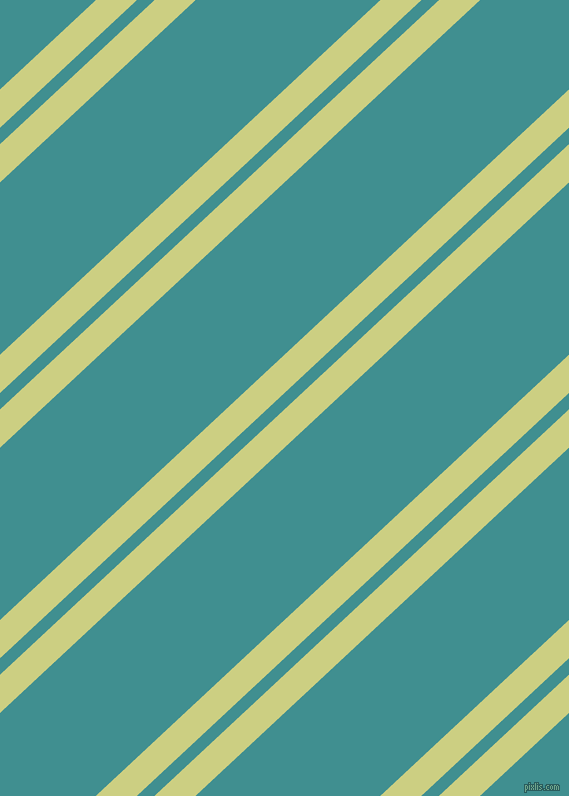 43 degree angles dual stripes lines, 28 pixel lines width, 12 and 126 pixels line spacing, Deco and Blue Chill dual two line striped seamless tileable