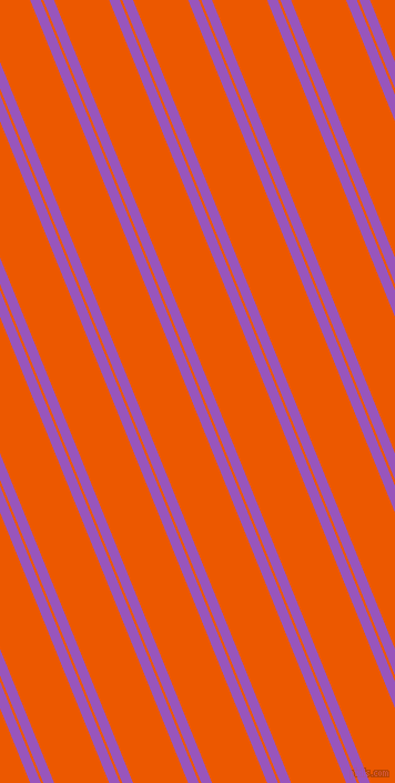 112 degree angle dual stripes lines, 9 pixel lines width, 2 and 46 pixel line spacing, Deep Lilac and Persimmon dual two line striped seamless tileable