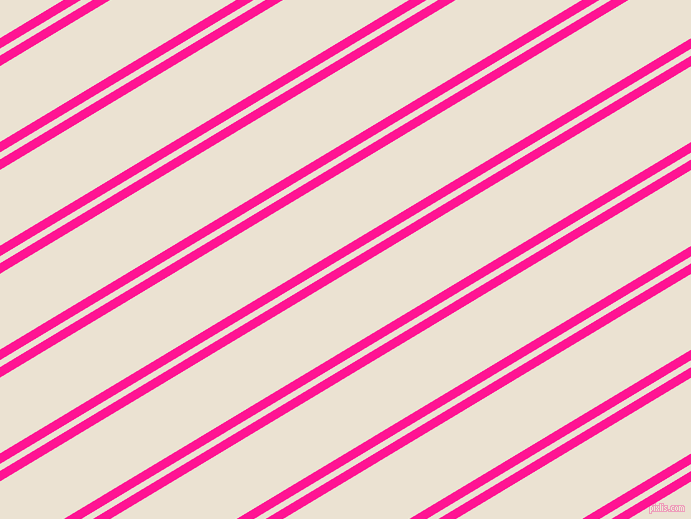 31 degree angles dual stripe lines, 9 pixel lines width, 6 and 65 pixels line spacing, Deep Pink and Quarter Spanish White dual two line striped seamless tileable