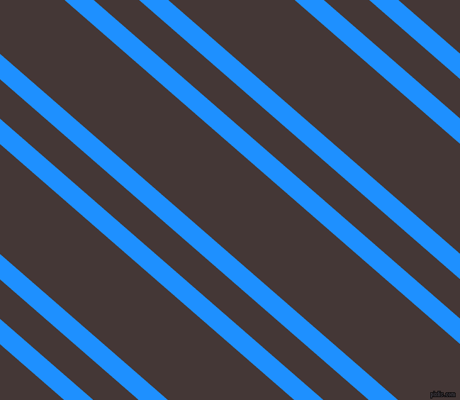 139 degree angle dual stripe lines, 27 pixel lines width, 42 and 117 pixel line spacing, Dodger Blue and Cowboy dual two line striped seamless tileable