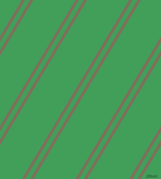 59 degree angles dual striped line, 9 pixel line width, 14 and 116 pixels line spacing, Donkey Brown and Chateau Green dual two line striped seamless tileable