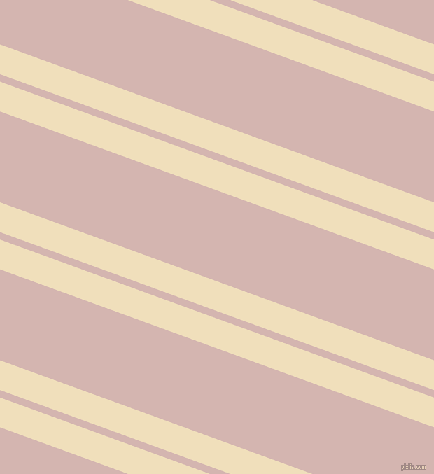 160 degree angles dual striped line, 40 pixel line width, 10 and 122 pixels line spacing, Dutch White and Oyster Pink dual two line striped seamless tileable