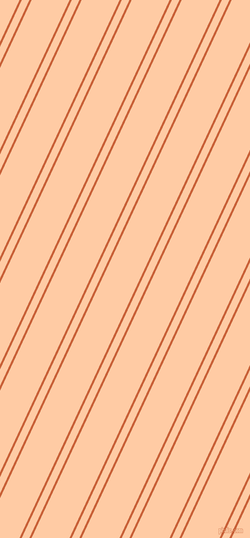 65 degree angles dual stripes lines, 3 pixel lines width, 10 and 50 pixels line spacing, Ecstasy and Peach dual two line striped seamless tileable