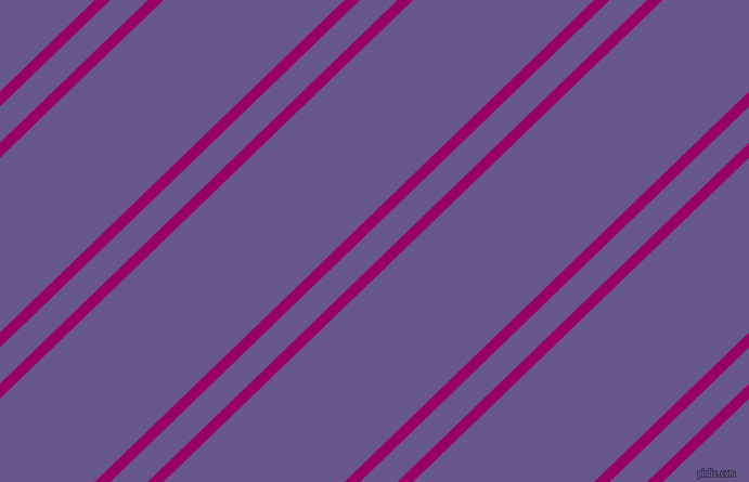 44 degree angle dual striped lines, 10 pixel lines width, 24 and 116 pixel line spacing, Eggplant and Butterfly Bush dual two line striped seamless tileable