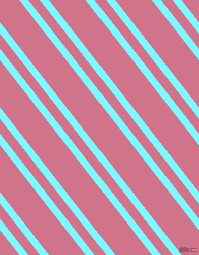 128 degree angles dual stripes lines, 14 pixel lines width, 18 and 57 pixels line spacing, Electric Blue and Charm dual two line striped seamless tileable