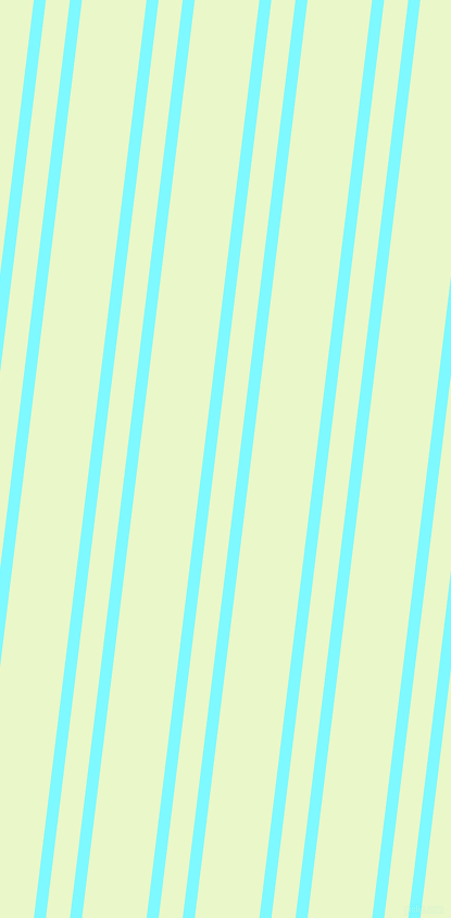 83 degree angles dual stripe lines, 11 pixel lines width, 22 and 59 pixels line spacing, Electric Blue and Snow Flurry dual two line striped seamless tileable