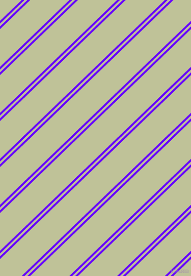 44 degree angles dual stripe line, 4 pixel line width, 4 and 55 pixels line spacing, Electric Indigo and Green Mist dual two line striped seamless tileable