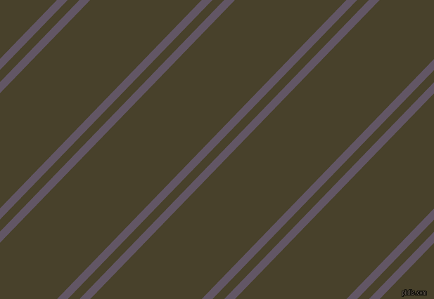 46 degree angles dual striped line, 11 pixel line width, 12 and 114 pixels line spacing, Fedora and Onion dual two line striped seamless tileable