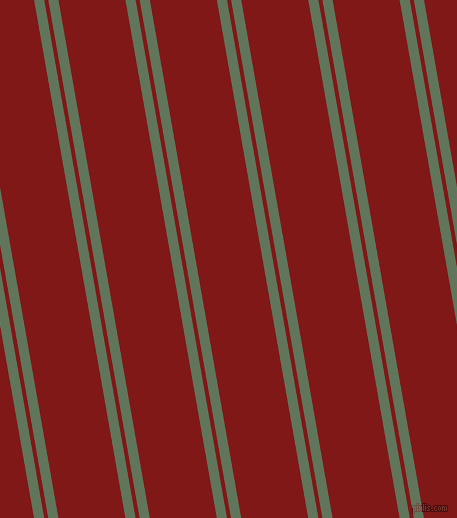 100 degree angle dual stripes lines, 10 pixel lines width, 4 and 66 pixel line spacing, Finlandia and Falu Red dual two line striped seamless tileable