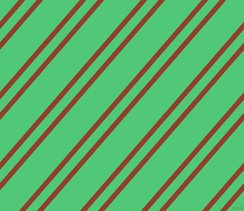 49 degree angle dual stripes line, 16 pixel line width, 28 and 90 pixel line spacing, Fire and Emerald dual two line striped seamless tileable