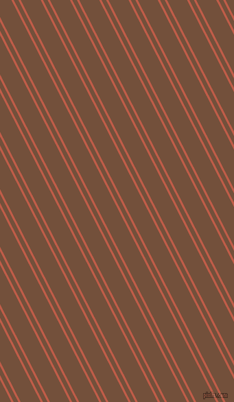 117 degree angle dual stripe line, 3 pixel line width, 6 and 26 pixel line spacing, Flame Pea and Old Copper dual two line striped seamless tileable