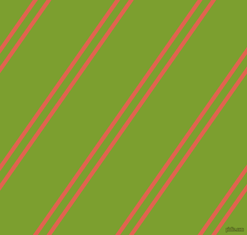 55 degree angle dual stripe lines, 8 pixel lines width, 14 and 103 pixel line spacing, Flamingo and Sushi dual two line striped seamless tileable