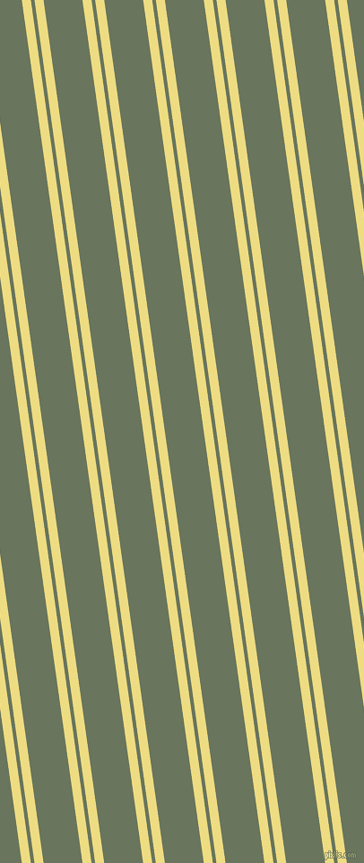 98 degree angles dual stripe line, 10 pixel line width, 4 and 43 pixels line spacing, Flax and Willow Grove dual two line striped seamless tileable