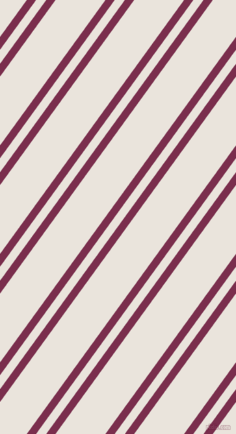 54 degree angle dual striped line, 11 pixel line width, 12 and 59 pixel line spacing, Flirt and Pampas dual two line striped seamless tileable