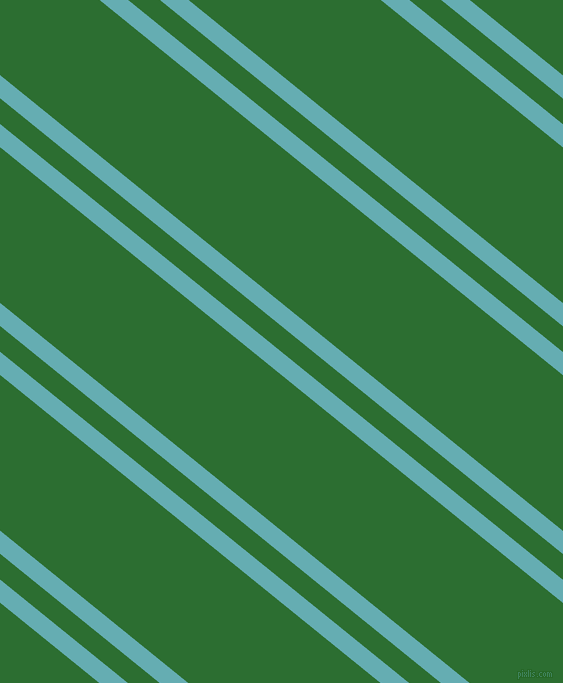 141 degree angles dual stripes line, 18 pixel line width, 20 and 121 pixels line spacing, Fountain Blue and San Felix dual two line striped seamless tileable