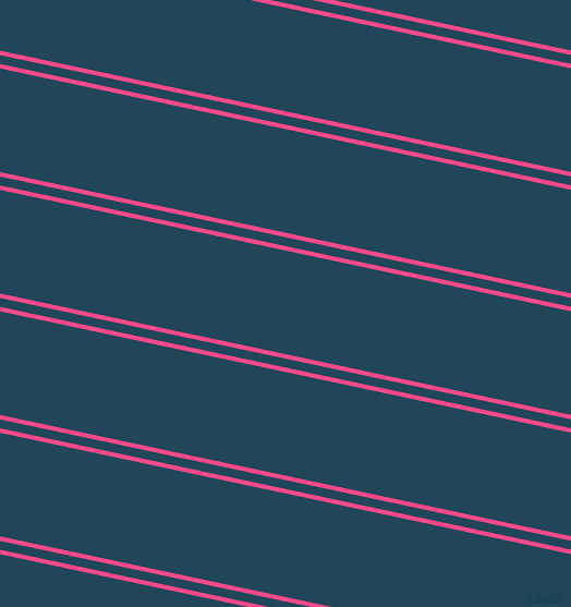 168 degree angle dual striped line, 4 pixel line width, 8 and 93 pixel line spacing, French Rose and Astronaut Blue dual two line striped seamless tileable