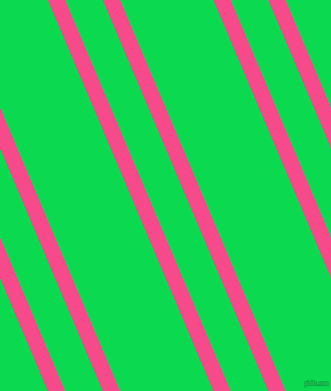 113 degree angles dual stripe line, 23 pixel line width, 50 and 124 pixels line spacing, French Rose and Malachite dual two line striped seamless tileable