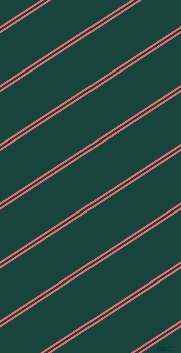 33 degree angles dual striped lines, 4 pixel lines width, 4 and 86 pixels line spacing, Froly and Deep Teal dual two line striped seamless tileable