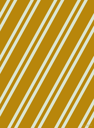 61 degree angle dual striped lines, 12 pixel lines width, 12 and 46 pixel line spacing, Frostee and Dark Goldenrod dual two line striped seamless tileable