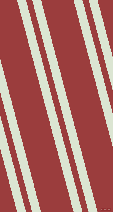105 degree angle dual striped line, 29 pixel line width, 20 and 106 pixel line spacing, Frostee and Mexican Red dual two line striped seamless tileable