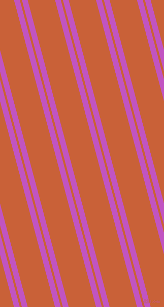 105 degree angles dual stripes line, 11 pixel line width, 4 and 52 pixels line spacing, Fuchsia and Ecstasy dual two line striped seamless tileable