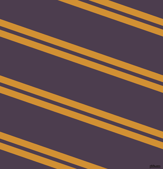 161 degree angle dual stripes line, 22 pixel line width, 12 and 124 pixel line spacing, Fuel Yellow and Bossanova dual two line striped seamless tileable