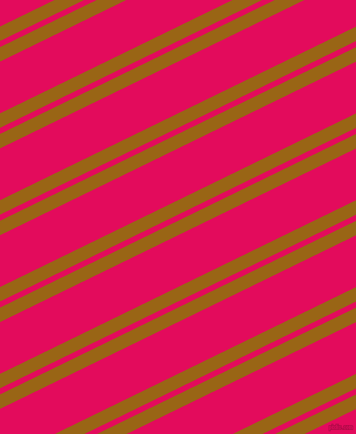 26 degree angle dual stripes lines, 19 pixel lines width, 8 and 68 pixel line spacing, Golden Brown and Razzmatazz dual two line striped seamless tileable