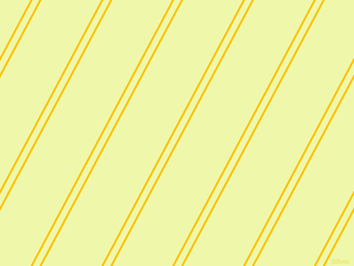 62 degree angle dual stripe line, 4 pixel line width, 12 and 107 pixel line spacing, Golden Poppy and Australian Mint dual two line striped seamless tileable