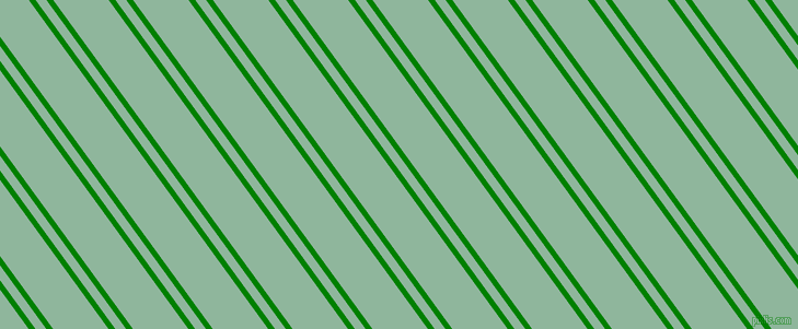 126 degree angle dual stripes lines, 5 pixel lines width, 8 and 41 pixel line spacing, Green and Summer Green dual two line striped seamless tileable