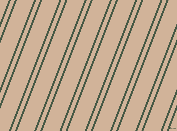 69 degree angles dual stripes lines, 8 pixel lines width, 16 and 68 pixels line spacing, Grey-Asparagus and Cashmere dual two line striped seamless tileable